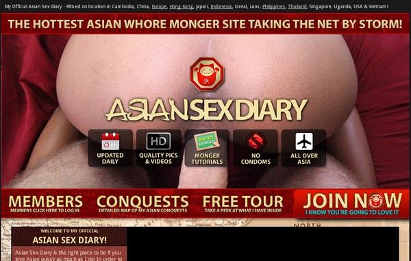 Asiansexdiary.com Free Account Login