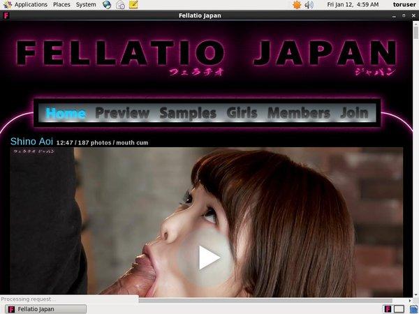 Become Fellatio Japan Member