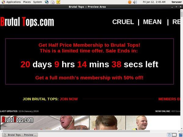 Brutal Tops Order