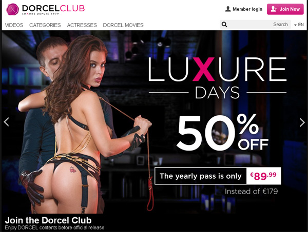 Dorcelclub.com Free Trial Pass