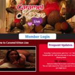 Free Caramel Kitten Live Scenes
