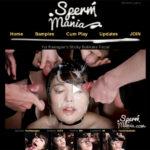 Sperm Mania With Euros