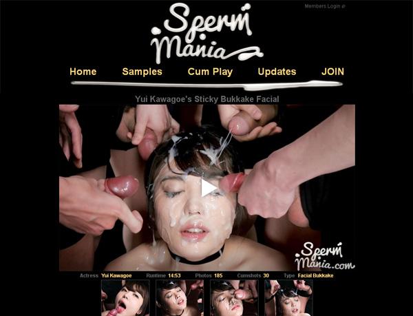 Sexy Sperm Mania