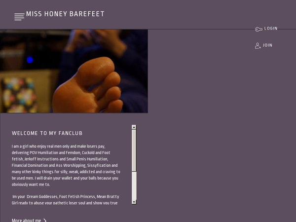 Trailer Miss Honey Barefeet