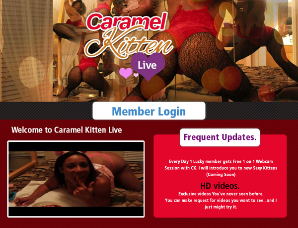 Caramelkittenlive.com Account Information