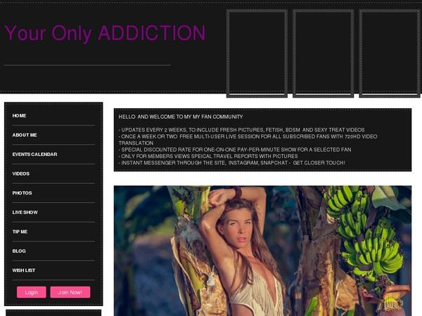 Free Addictionxxx.com Accounts And Passwords