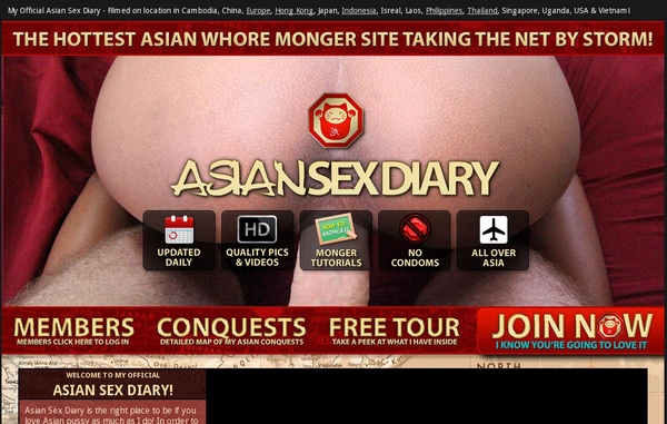Asiansexdiary.com Discount Checkout