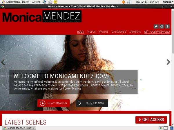 FreeMonica Mendez Password