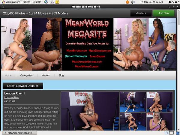 Free Mean World MegaSite Passwords